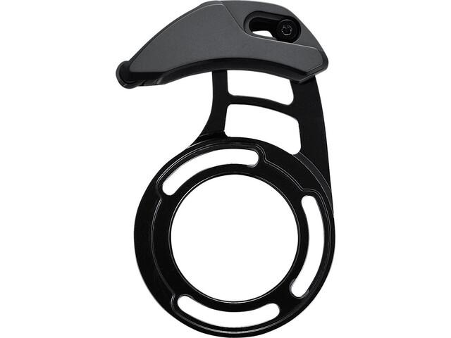 Shimano Steps Guía de cadena para SM-CRE80 con placa de montaje, black